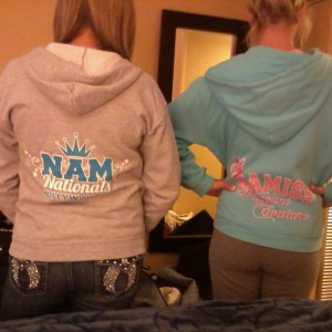 The Bebeau Sisters in NAM Clothing!