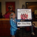 Abi Lange Miss Colorado Jr. Preteen Ready for Interivew one of her favorite parts of the pageant!
