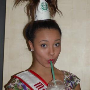 Nyasha Sprow at crazy hair rehearsal