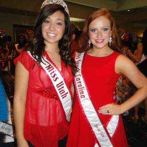 Miss Utah and Miss SC Jr. Teen Queens