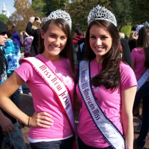 NJ Teen, Samantha Mazza and the 2010-2011 National All American Miss Teen, Alexandra Curtis in Disneyland