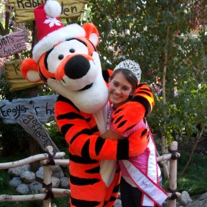 NJ Teen Samantha Mazza and Tigger!