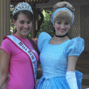 Once a princess, always a princess. NJ Teen with her favorite princess, Cinderella