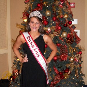 Samantha Mazza, Miss NJ Teen is ready for Christmas