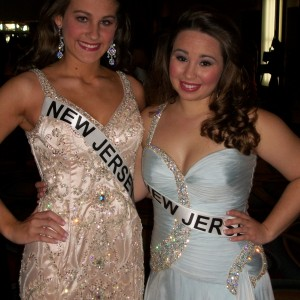 NJ sister queens, Samantha Mazza and Danielle VanKampen are looking great before formal wear!