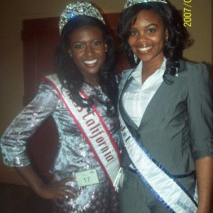 Ayasia Cherry- Miss Harrisburg w/ Miss California