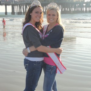 Courtney and Jena Diller - Miss Ohio and Miss Ohio Teen spending time at the beach