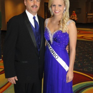 Miss Ohio Teen and later crown NAM Teen - Jena Diller