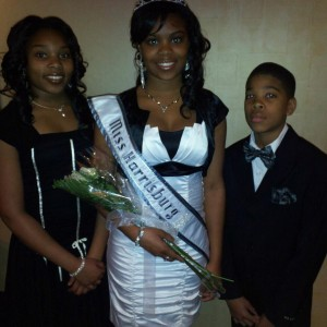 A'yasia Cherry w/Brother & Sister