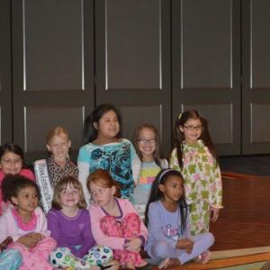 All American Princess PJ Rehearsal.