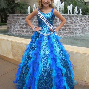 After Formal Wear!  Miss New York Pre-Teen Shania Brenon
