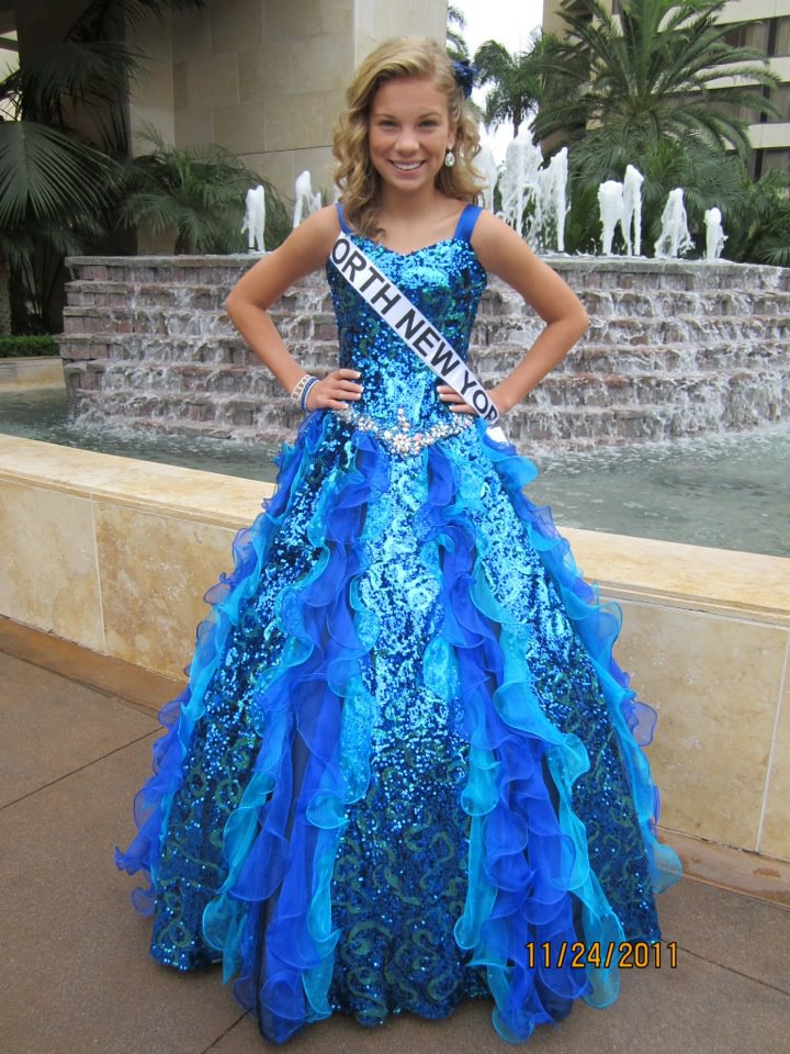 After Formal Wear Miss New York Pre Teen Shania Brenon National