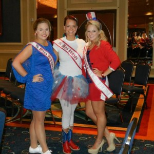 Miss contestants proud to be Americans.