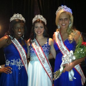 Raven, Rachel and Jena - newly crowned National Queens