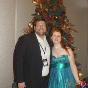 National Jr Teen  Cover Miss: Deonè Lotter 9georgia) and State Director Mr. Matt Leverton