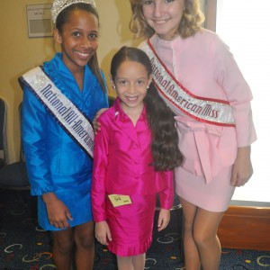 Tiana and the National Jr Pre-Teen Queens