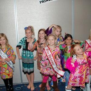 Gwennyth with Princess Team Achievement!