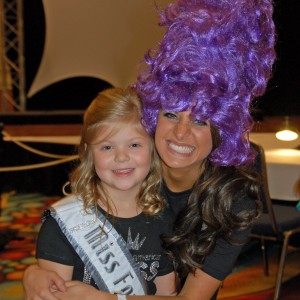 Gwennyth Simmerman, Miss Fort Wayne with Whitney