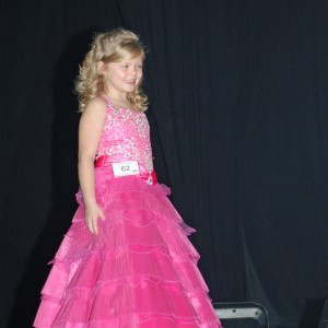 Princess Gwennyth Simmerman during Formal Wear competition!