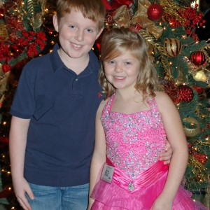 Miss Fort Wayne, Gwennyth Simmerman with big brother Jake