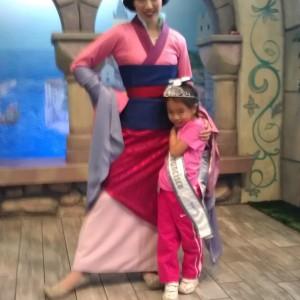 Angelina Favorito & Mulan