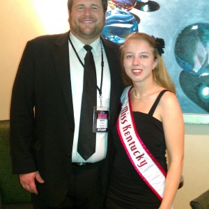 Matt Leverton and Ashley Thompson
