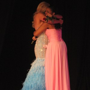Kasey Knowles and Morgan Clarkson - final two in All-American Teen pageant