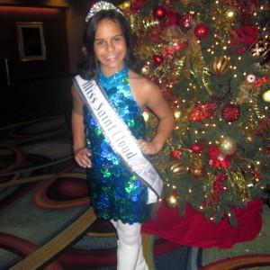 Miss Saint Cloud JPT ready to disco!
