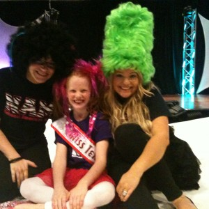North Texas Princess Claire with Tracie & Breanne!