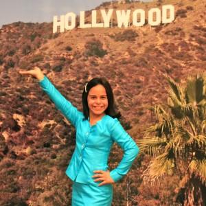 Alexis Delgado in interview suit