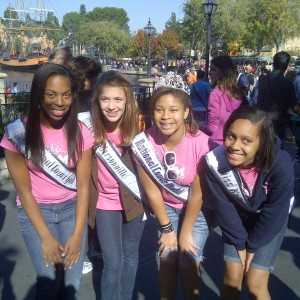 Preteen Sister Queens at Disney