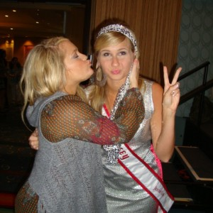 Miss NJ Jr. Teen having a blast with the adorable Breanne...Love Her!!!