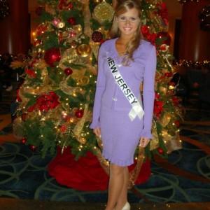 Christina Miss NJ Jr. Teen after interview