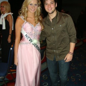 Miss NJ Jr. Teen with Nathan Kress(Freddie) from the iCarly show!!!