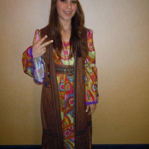 Savannah Giammarco-Peace and love!