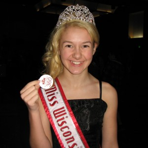 Miss Wisconsin Pre-teen, Brittany Georgia