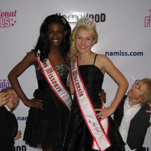 "Miss Wisconsin Pre-teen, Brittany Georgia's little brothers play ""Twilight"" with big sister and Miss Missouri Pre-teen, Madison Shead"