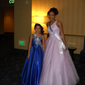 Miss Nebraska and Miss Mississippi Pre-Teen's