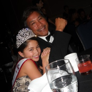Guess who I'm thankful for....Miss Nebraska Pre-Teen Cassandra Salas and her dad CJ