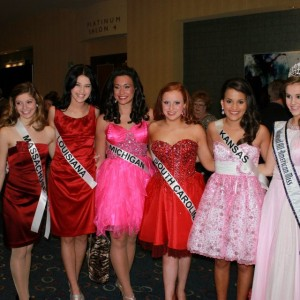 Junior Teen Queens before the Final pageant!