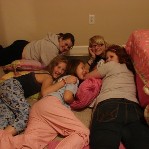 "Deonè Lotter (ga) National Jr Teen Cover Miss: ""Pajama-fun times"""