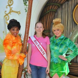 Ashley and Tinkerbell