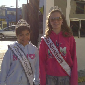 Miss Massachusetts in NAM Apparel