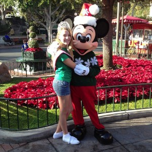 TN Preteen 2012 Anna Grace Smith with Mickey Mouse