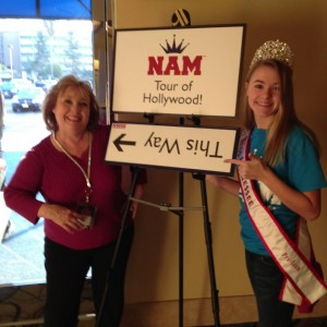 Miss TN Preteen 2012 Anna Grace Smith with National Director Mrs Lani