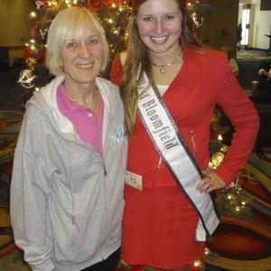 Natasha Dabrowski of Michigan and her mother