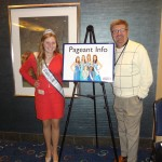 Natasha Dabrowski of Michigan with Bill and a NAM Sign