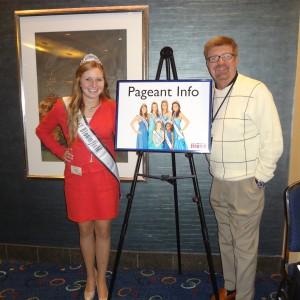 Natasha Dabrowski of Michigan with Bill and a NAM Sign