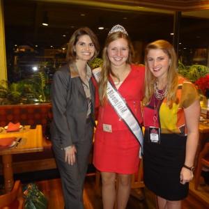 Natasha Dabrowski of Michigan with guest speaker Skylar Zwick and NAM Staff Sarah