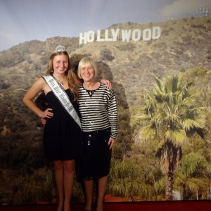 Natasha Dabrowski of Michigan on the Red Carpet with her mother!